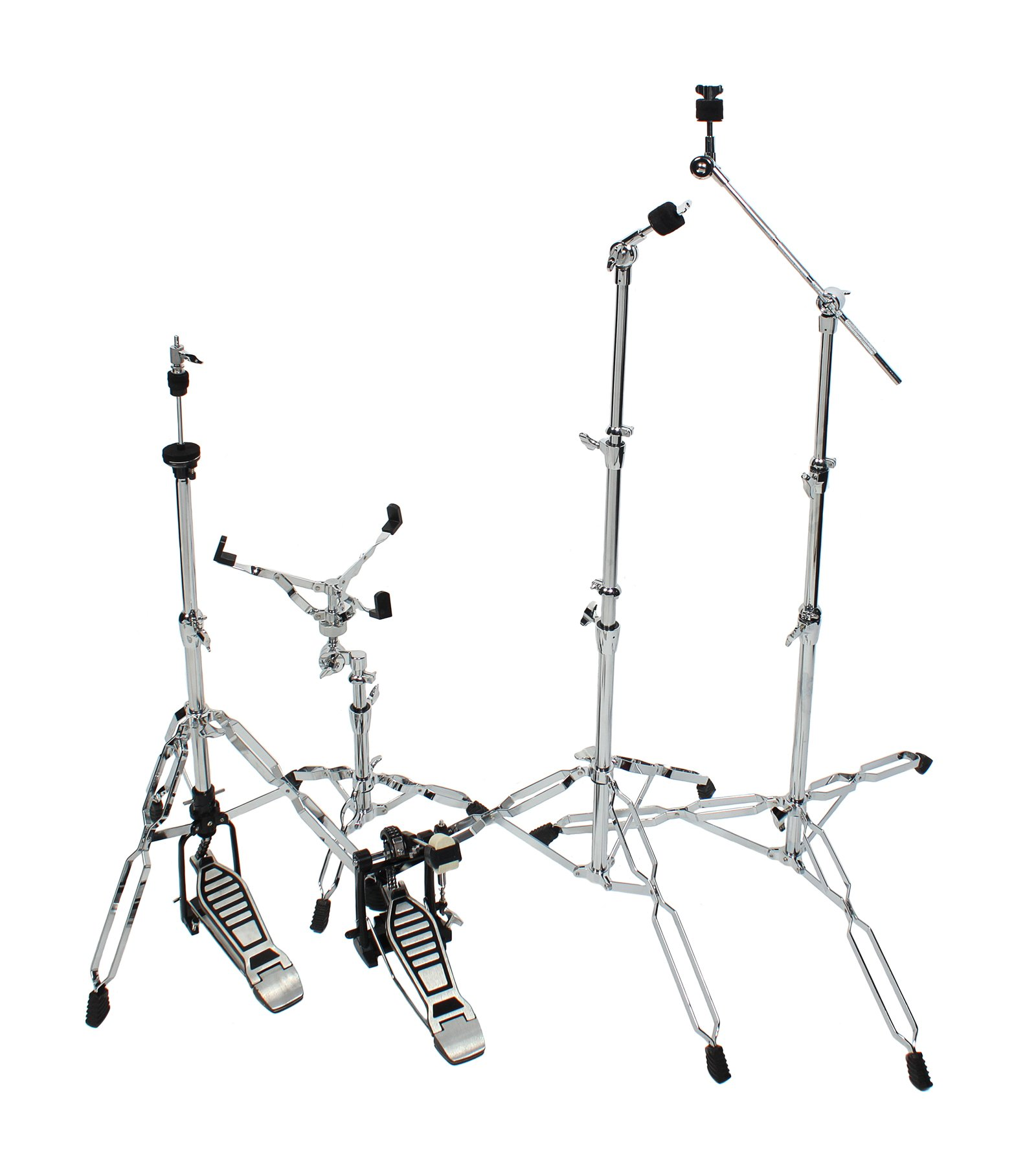 Custom Classic Drum Hardware Pack Cymbal Snare Stand Bass Pedal by Custom Classic