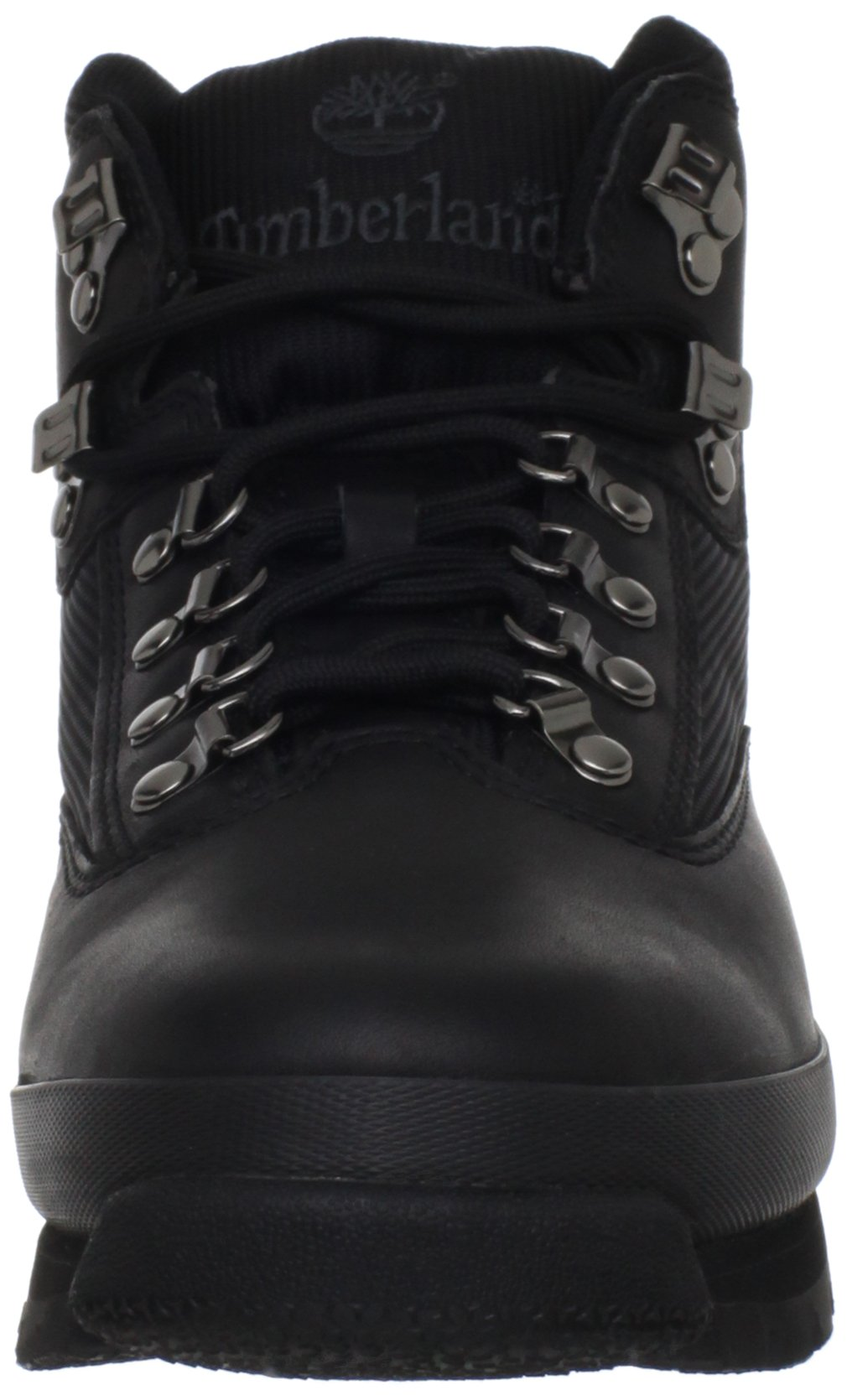Timberland Men's Euro Boot,Black Smooth,10.5 M US by Timberland (Image #4)