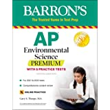 AP Environmental Science Premium: With 5 Practice Tests (Barron's Test Prep)