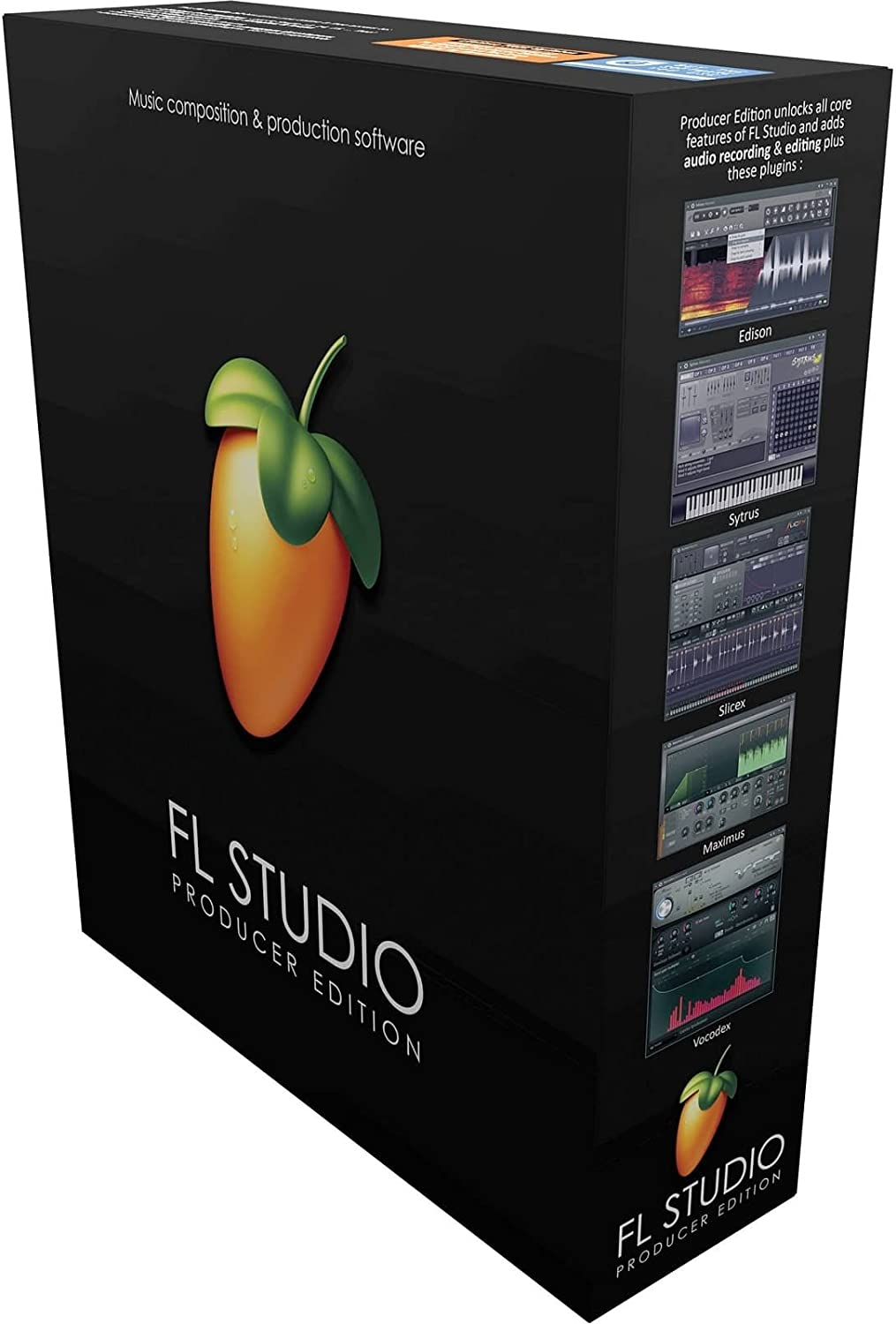 front facing Imagine Line FL Studio