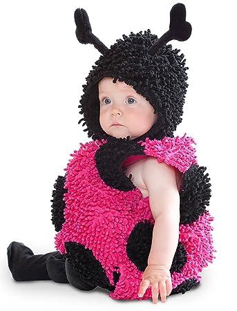 Ladybug Marienkafer Baby Halloween Fasching Karneval Kostum Overall