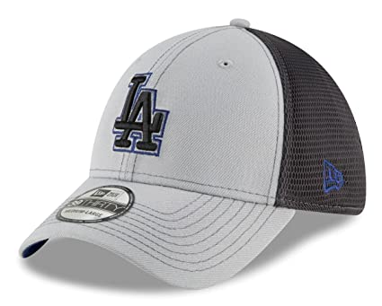 fa0212ff521244 Image Unavailable. Image not available for. Color: New Era Los Angeles  Dodgers MLB 39THIRTY 2T Sided Flex Fit Meshback Hat ...