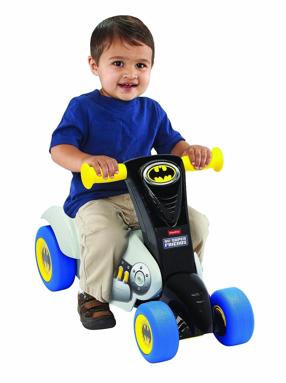 Amazon.com: DC Super Friends Batman Ride 2-en-1 Scoot Ride ...