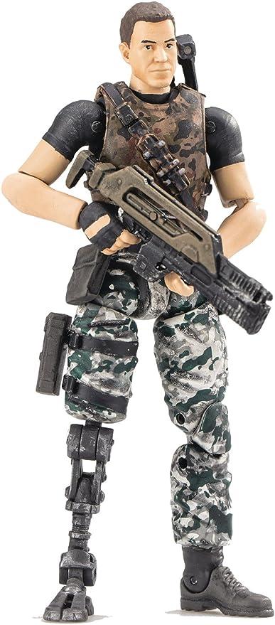 Hiya Toys Aliens Colonial Marines Lieutenant Jeremy Cruz 1//18 Action Figure