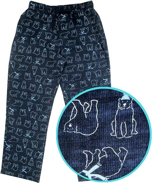Lazy One Kids Children PJ Pajamas Sleepwear Toddler Polar Bear Too Cool Blue