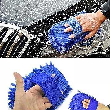 Weksi Multi-Function Car Wash Cepillo de limpieza para coche vehículo limpia guante de microfibra