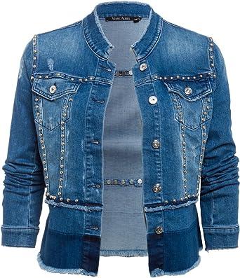 7c8409176d0c Marc Aurel Women's Jacket - Blue -: Amazon.co.uk: Clothing