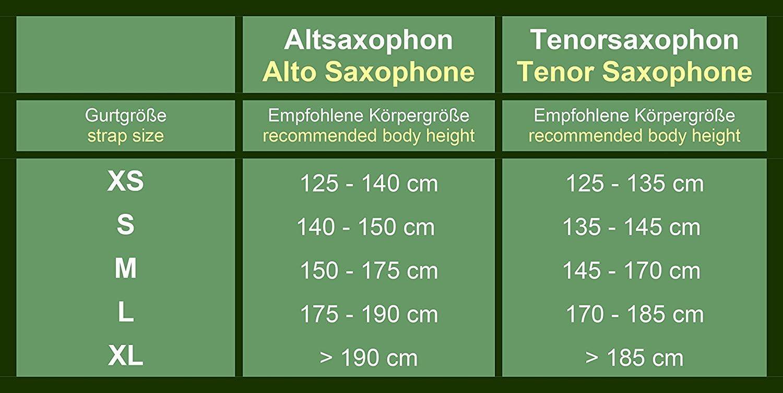 Arnes saxofón Cordon Saxo Cordón Para saxofón alto/tenor o ...