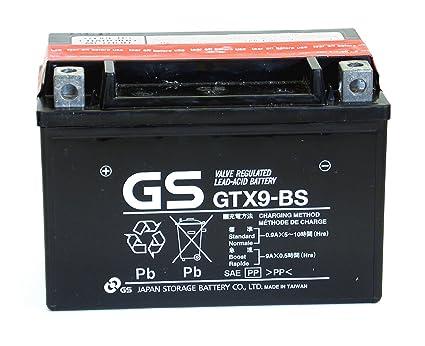 Baterías de Motocicleta MF VRLA 12 V 8 Ah 135CCA GS GTX9-BS