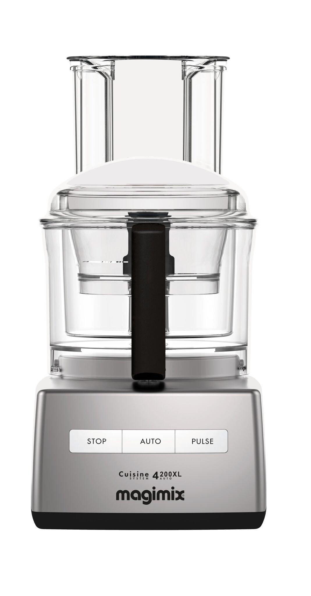 Magimix Compact 4200 XL Chrome 950 Watt Food Processor