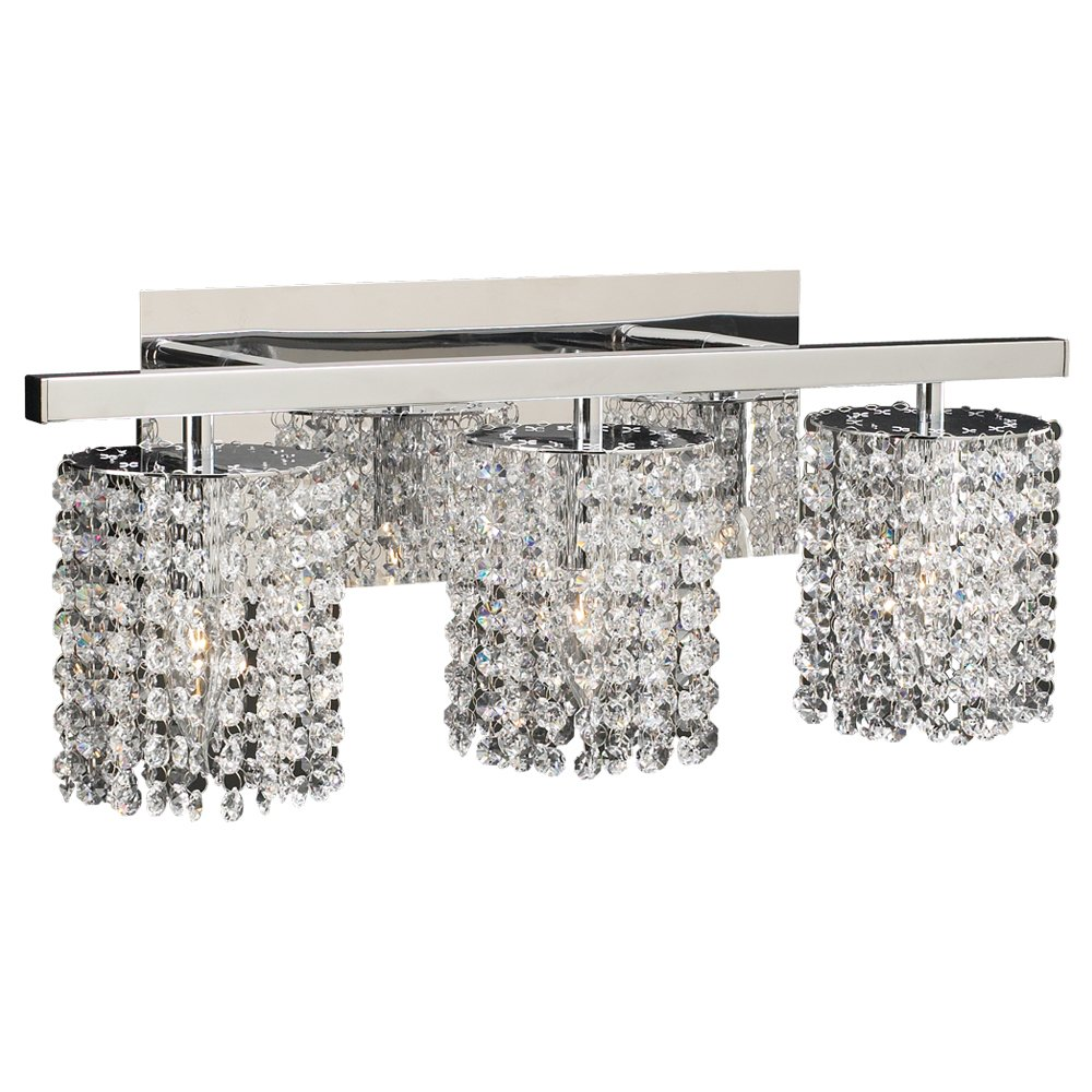 PLC Lighting 72194 PC 3 Light Vanity, Rigga Collection, Polished Chrome  Finish   Vanity Lighting Fixtures   Amazon.com