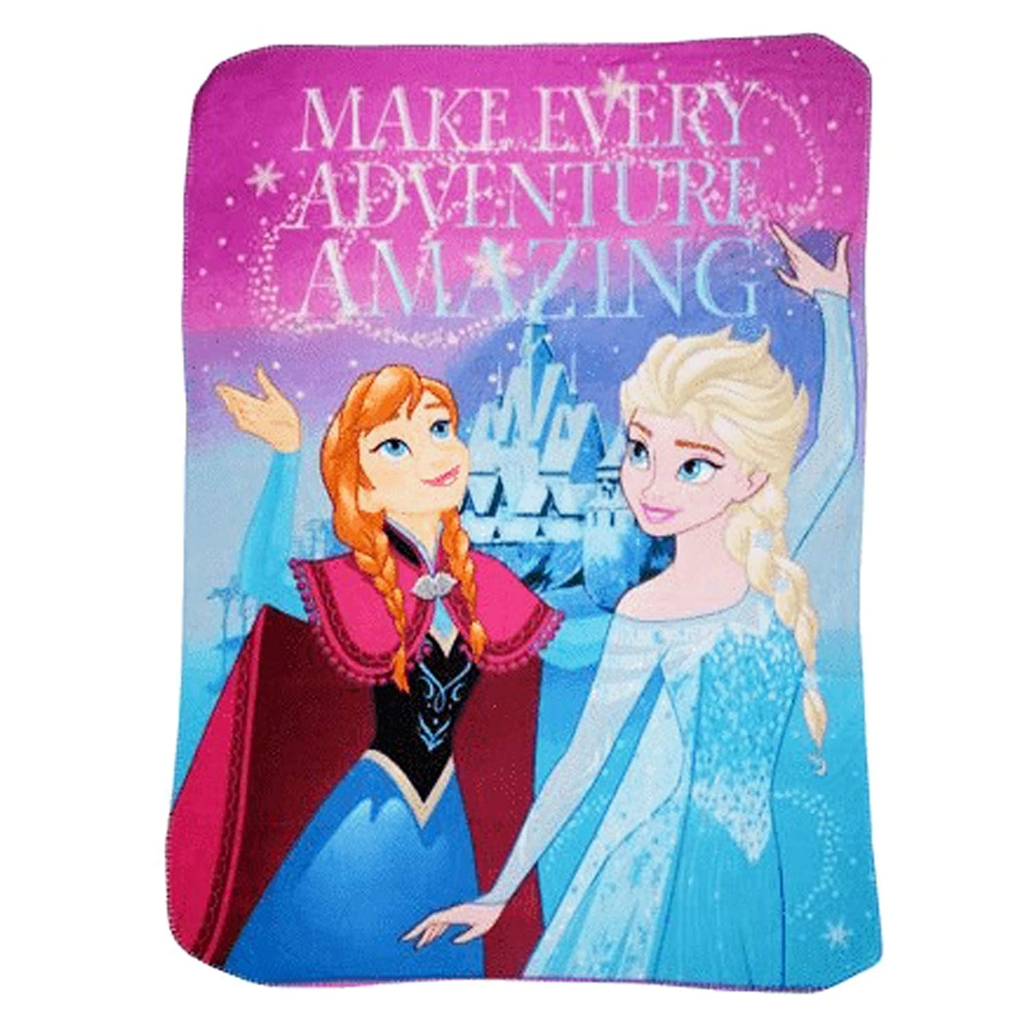 """Ideal for Baby Gift 45/""""x60/"""" Soft /& Warm Breathable Fabric Nap Mat 45/"""" x 60/"""" Collectible Throw for Toddlers Disney Frozen Kids Blankets /& Throws /""""Make Every Adventure Amazing/"""" Fleece Blanket"""