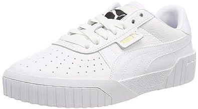 b82d69fb737c PUMA Cali Womens White Trainers  Amazon.com.au  Fashion