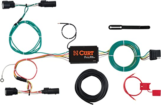 Amazon.com: CURT 56273 Vehicle-Side Custom 4-Pin Trailer Wiring Harness for  Select Ford Focus: AutomotiveAmazon.com