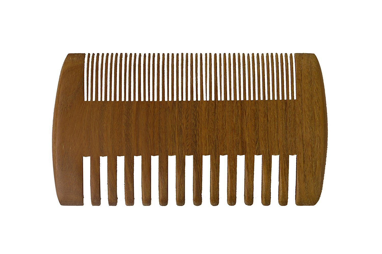 Mr Beard Comb | 8 pcs Pure 2in1 Sandalwood Pocket Comb | Wide Fine Teeth |1112.03