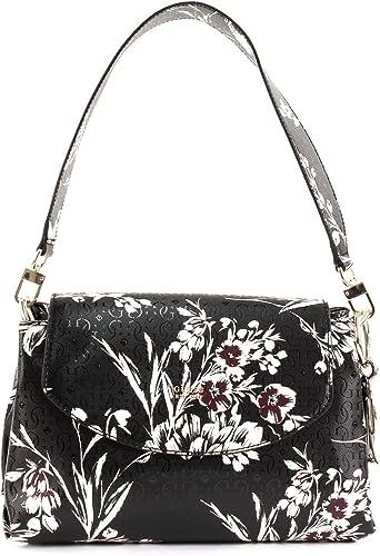 GUESS Tamra Shoulder Bag Black Floral: Amazon.co.uk: Shoes