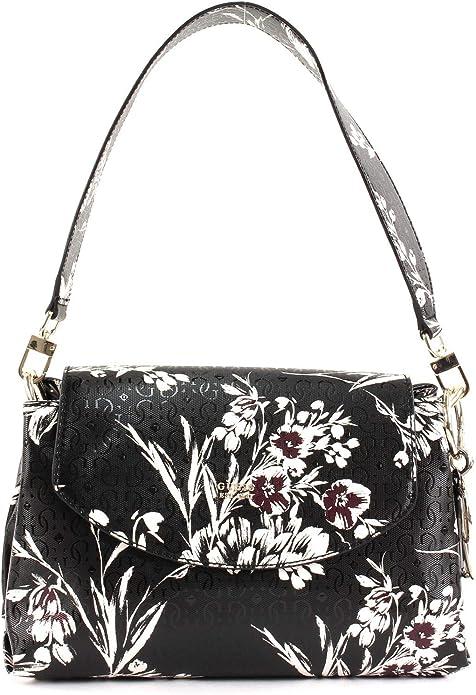 Guess Tamra Shoulder Bag Black Floral: : Chaussures