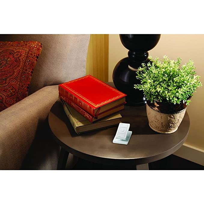 Caseta Wireless Pedestal for Pico Remote, L-PED1-WH, White - Lutron Maestro Stand - Amazon.com