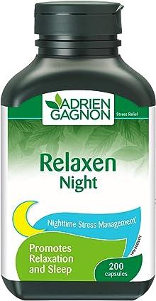 Adrien Gagnon - Relaxen Night Bonus, Better Sleep, 200 capsules