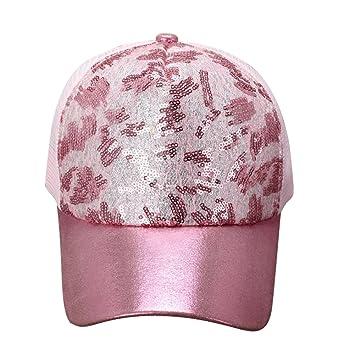 ITODA gorra de béisbol Snapback sombrero de sol visera playa malla Cap  Hip-hop Unisex 8ccae1b0f84