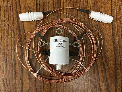 Ready to Hang 20 Meter Half Wave Dipole Antenna - 20HWD