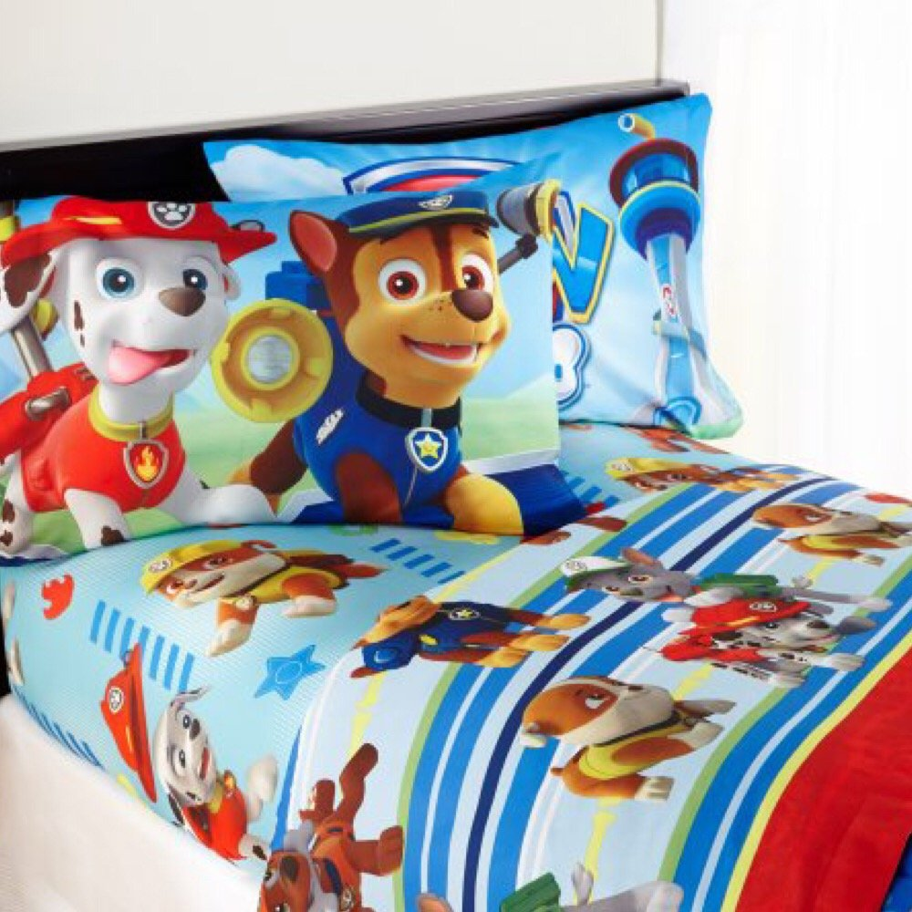 Nickelodeon's Paw Patrol Kids Twin Bedding Sheet Set B075MR4928