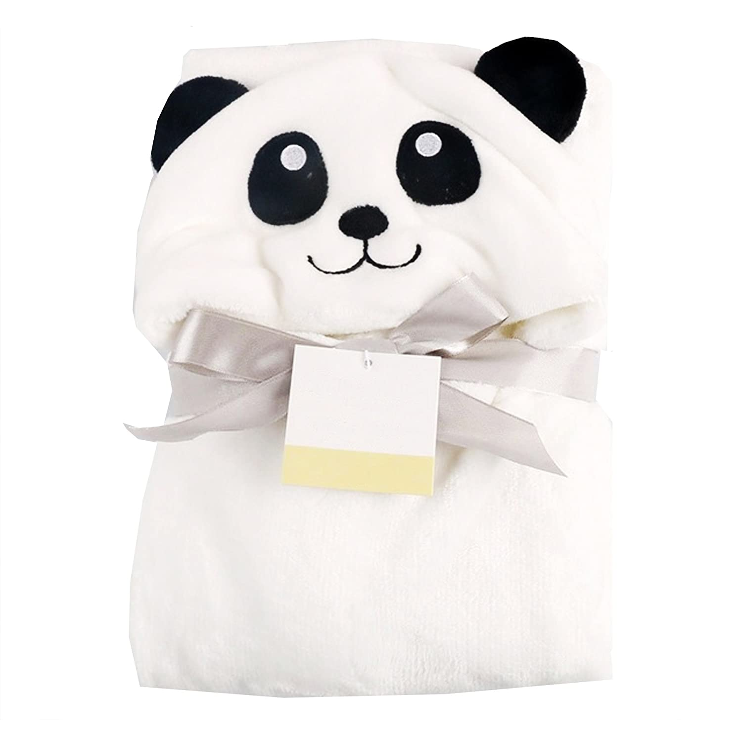 Cutieco AMZ-C1-Panda Luxury Series Super Soft Baby Sleeping Bag for New Born Babies (White)