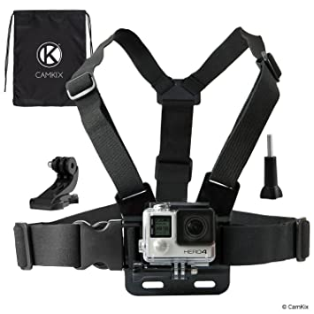 Amazon.com : CamKix compatible Chest Mount Harness with Gopro Hero