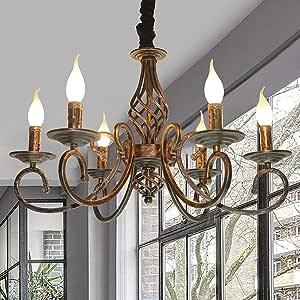 Lámpara Industrial Vintage Colgante España clásica rústica Retro ...