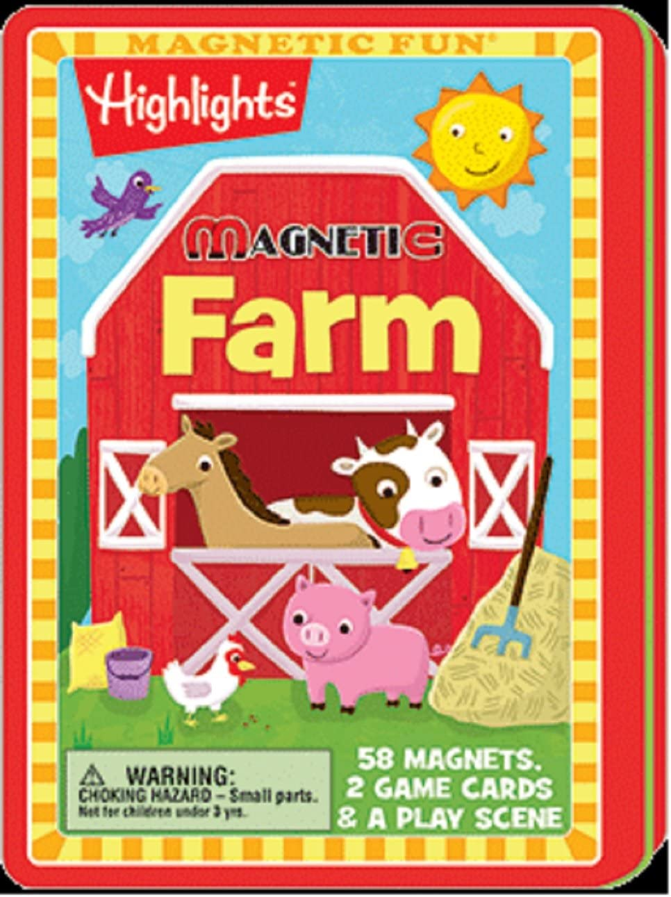 Magnetic Fun Cars Planes and Trains Lee Publication