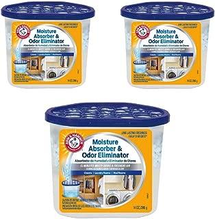 product image for Arm & Hammer FGAH14 14 Moisture Absorber & Max Odor Eliminator Tub, 14 oz (3 pack)