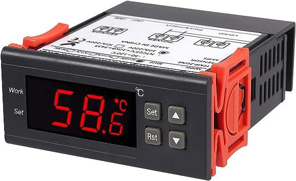 Proster Controller STC-8010 - Termostato Digital Multiusos con ...