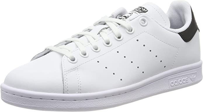 adidas Stan Smith Sneakers Jungen Mädchen Unisex Kinder weiß schwarz Größe 35 1/2 bis 38 2/3