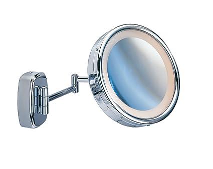 Wenko specchio da trucco orientabile con
