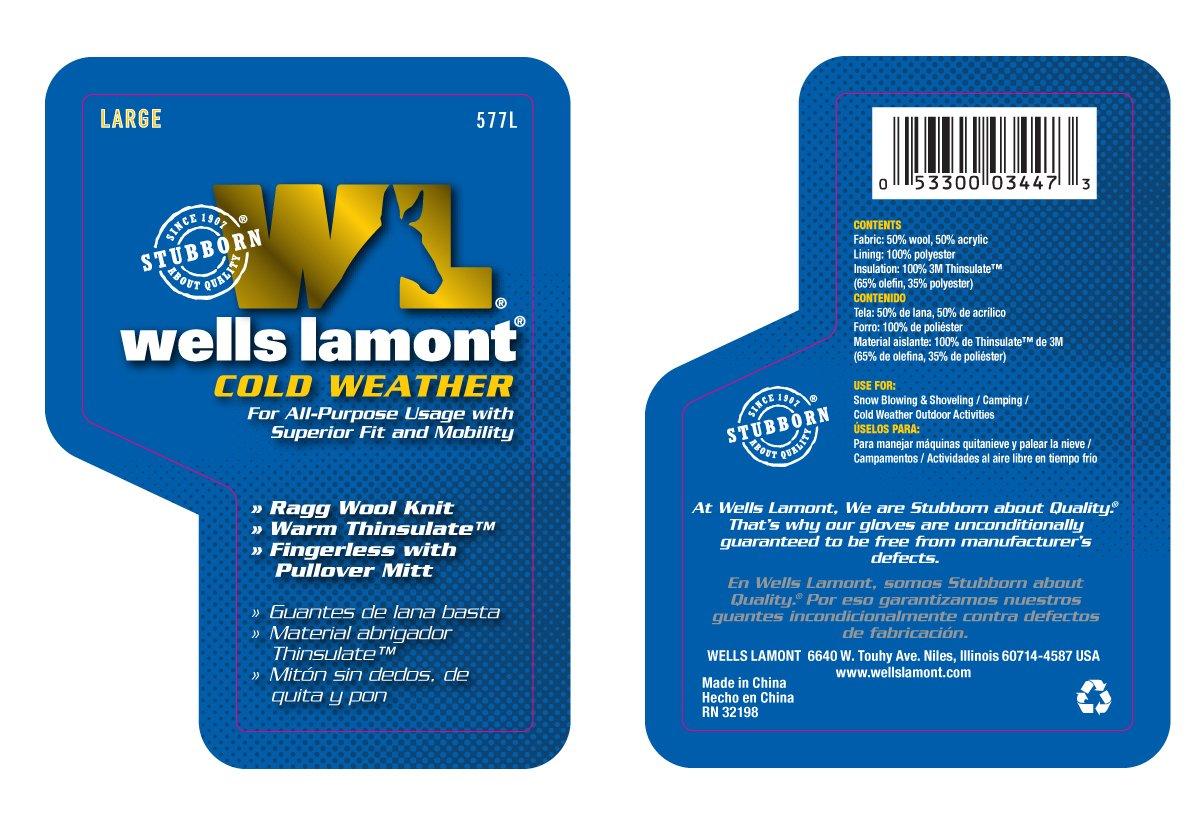Fingerless gloves eso - Wells Lamont 577l Fingerless Ragg Wool Gloves Large Work Gloves Amazon Com