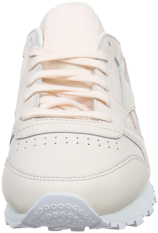 Reebok Damen Cl Pink Lthr PS Pastel Laufschuhe Pink Cl (Pale PinkWeiß) 9a734e