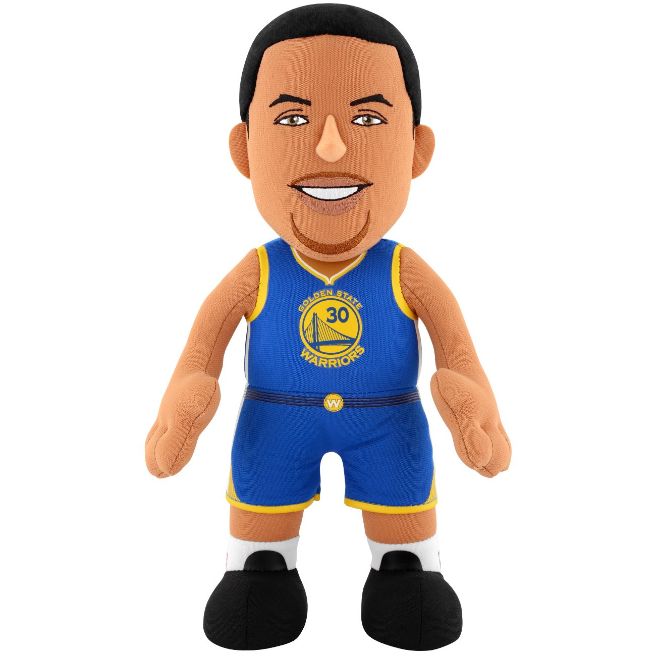 Poupluche (Bambola di peluche) Stephen Curry - Golden State Warriors - Icon Maglia Bleacher Creatures
