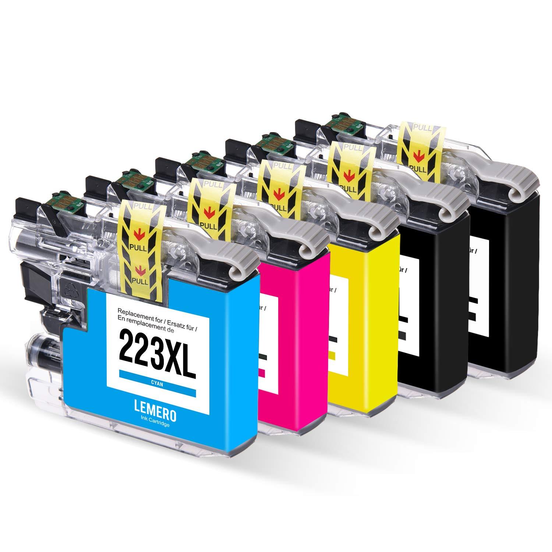 5 LEMERO LC233 XL Multipack Cartuchos de Tinta Compatible para ...
