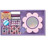Melissa & Doug - 14586 - Kit De Loisirs Créatifs - Réalisez Votre Propre Décoration - Miroir En Forme De Fleur