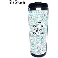 ziqing personalizado vaso–Taza de café–quote-you eres el Cristina