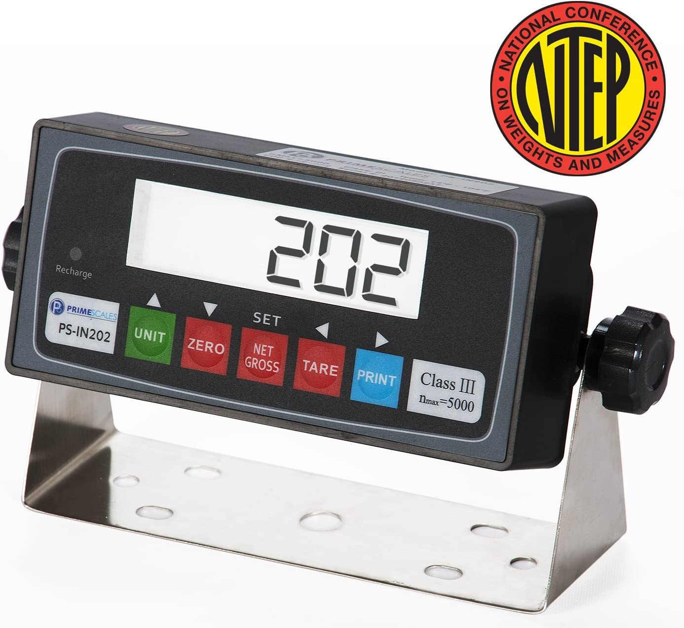 Certified NTEP 2500lb//0.5lb 36x36 Legal For Trade Floor Scale with Indicator