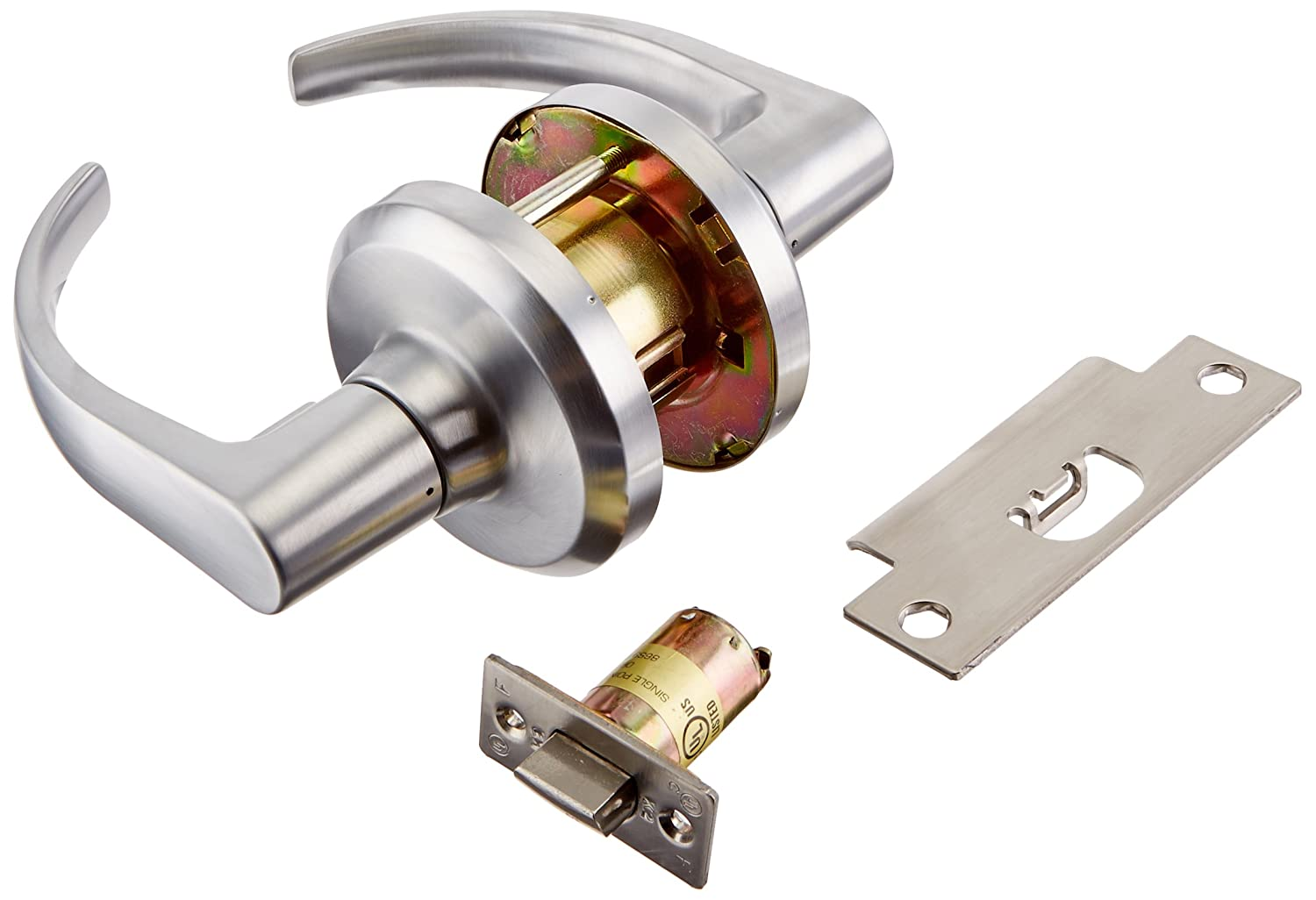 Stanley Commercial Hardware Commercial Passage Leverset from the QCL100 Collection, Summit Style, Satin Chrome Finish by Stanley Commercial Hardware  B00CLIMMBY