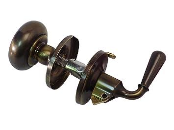 Gu0026M Products Screen U0026 Storm Door Lock Antique Brass
