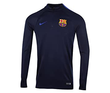 Nike FCB M Dril Top SQD Camiseta de Manga Larga FC Barcelona d747447b7eb4a