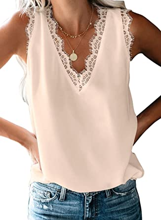 Sleeveless lace Blouse Summer Collection Women