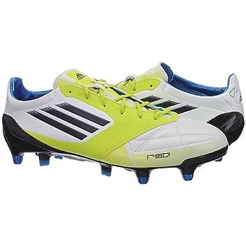 online retailer 14c32 9025b Adidas F50 Adizero XTRX SG Syn V21452 soccer cleats men White Lime   Amazon.co.uk  Sports   Outdoors