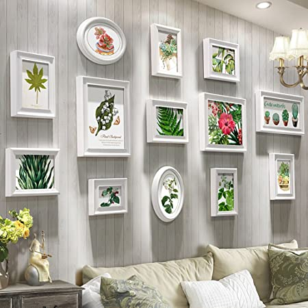 &Decorative walls DIY Photo Frame Sets For Wall, Living Room Photo ...