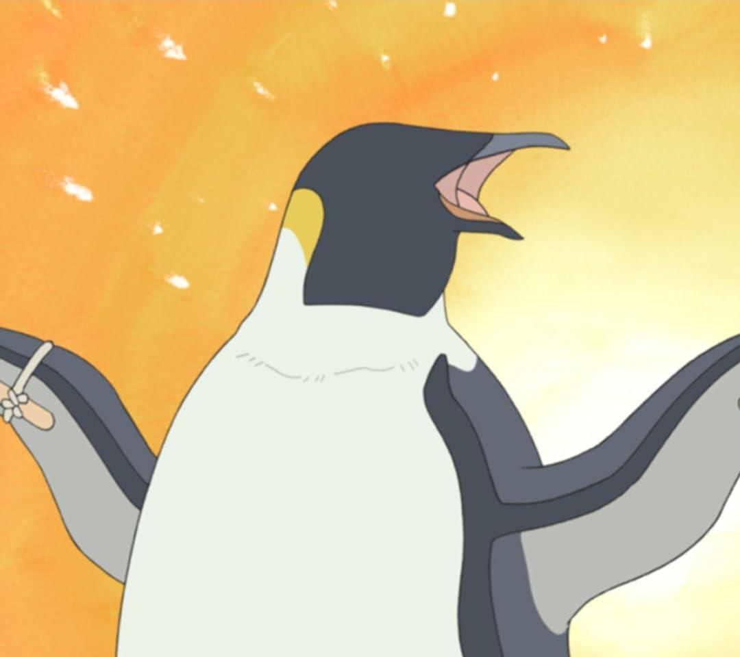 しろくまカフェ ペンギンさん QHD(1080×960)スマホ 壁紙・待ち受け