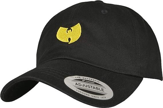Wu-Wear – Gorra Logo Dad, Unisex, WU009, Negro, Talla única ...