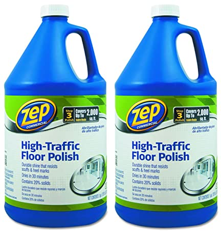 Nice Amazon.com: Zep Commercial 1044999 High Traffic Floor Polish, 1 Gal Bottle:  Industrial U0026 Scientific